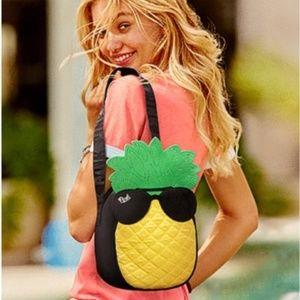 Pink Pineapple Lunchbox Cooler Bag